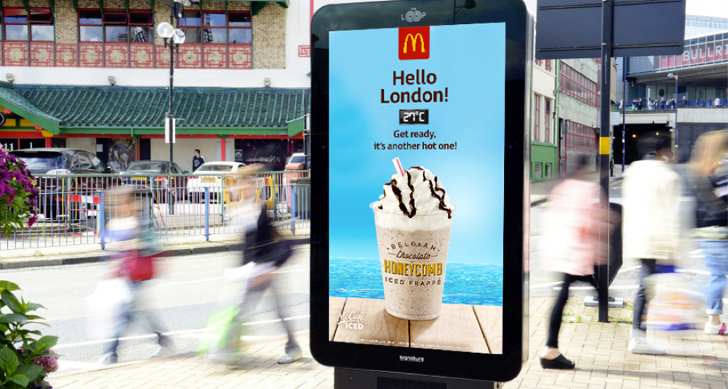 Grand Visual's Dynamic Campaign for McDonalds